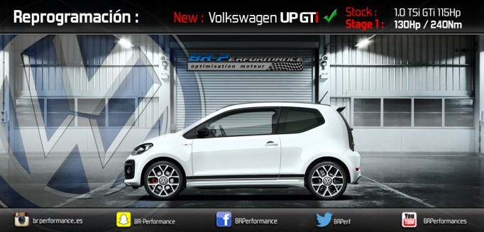 REPROGRAMACION VW UP GTI 1.0 TSI